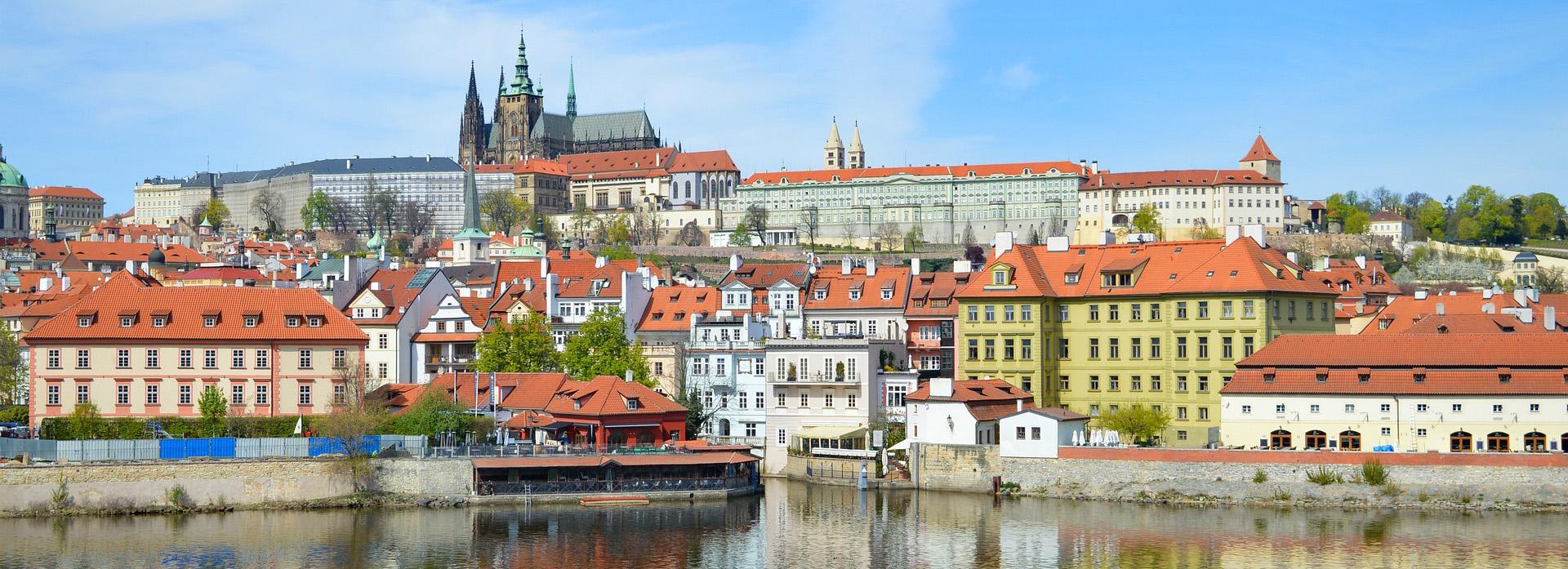 Prague Airport to City Centre: view
