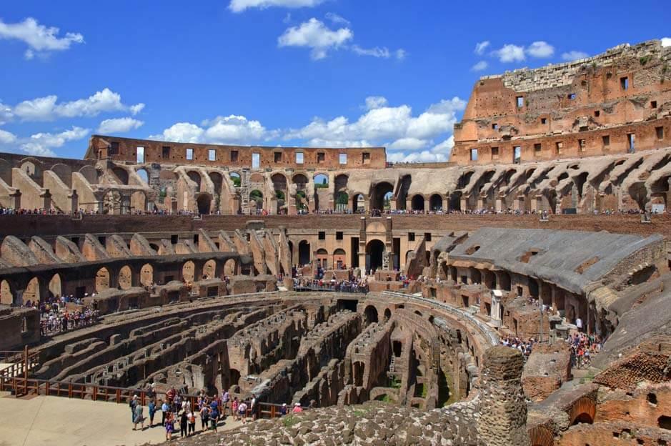 left luggage colosseum rome
