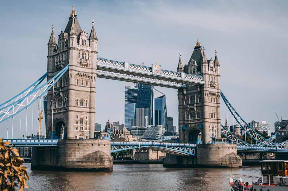 london bridge: landscape
