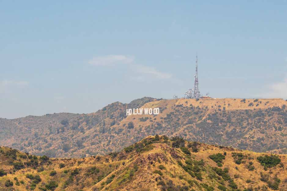 solo travel los angeles griffith park: panorama