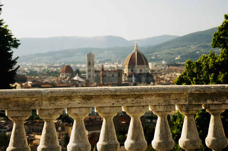 florence city guide piazzale michelangelo: view