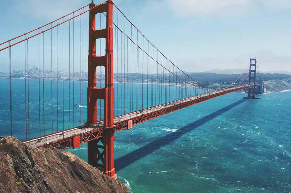 golden bridge: attractions