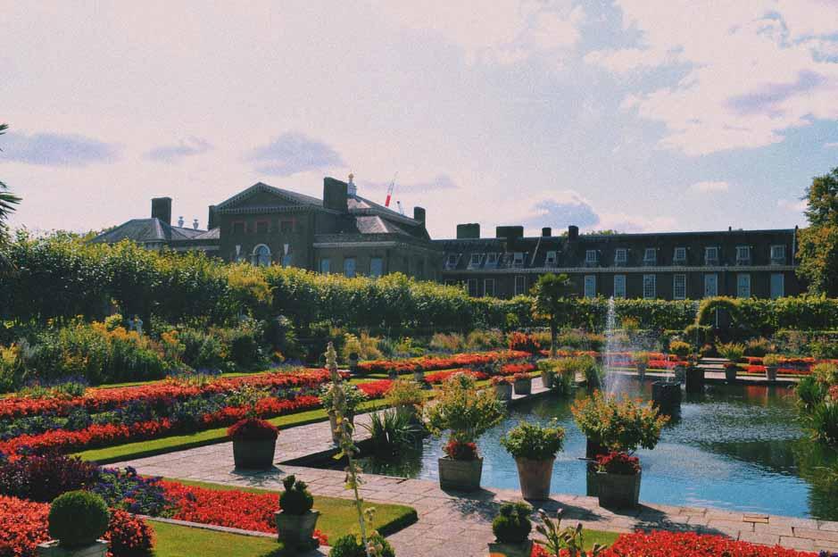 Princess Diana Memorial: garden