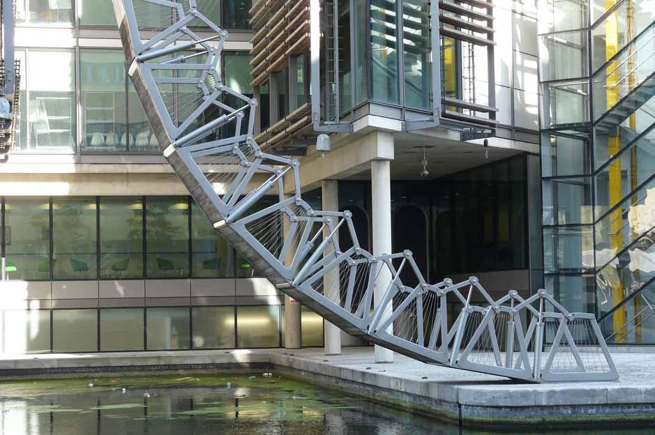 rolling bridge london: sightseeing