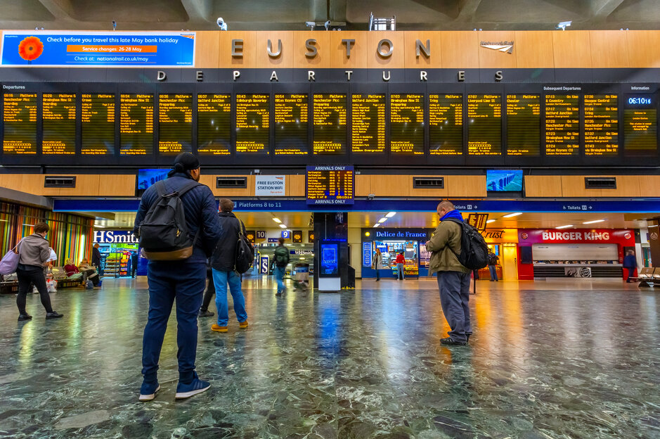 Euston Station information: get to know one of the major London's hubs