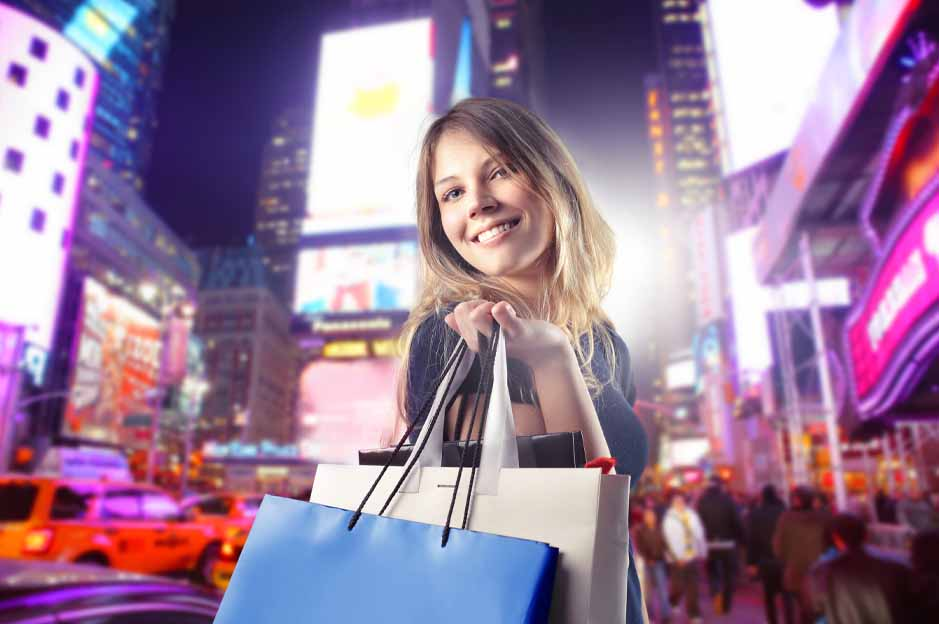 garment district: shopping in new york