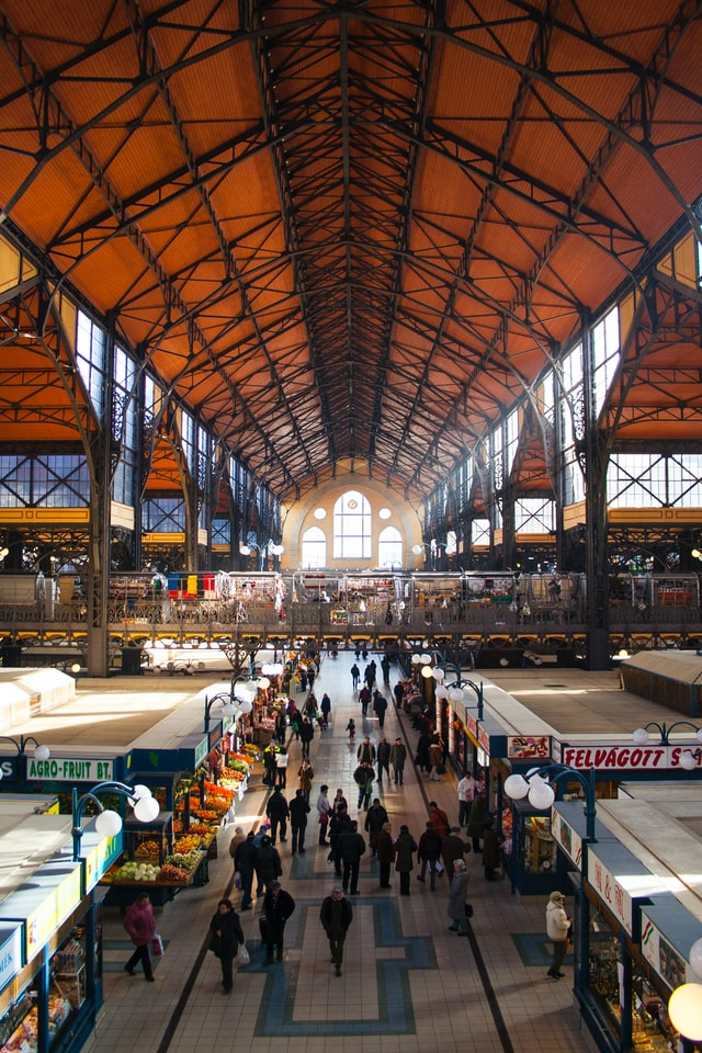 Great Market Hall Budapest: among the best places to visit