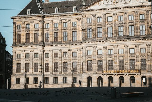 dam square: palace